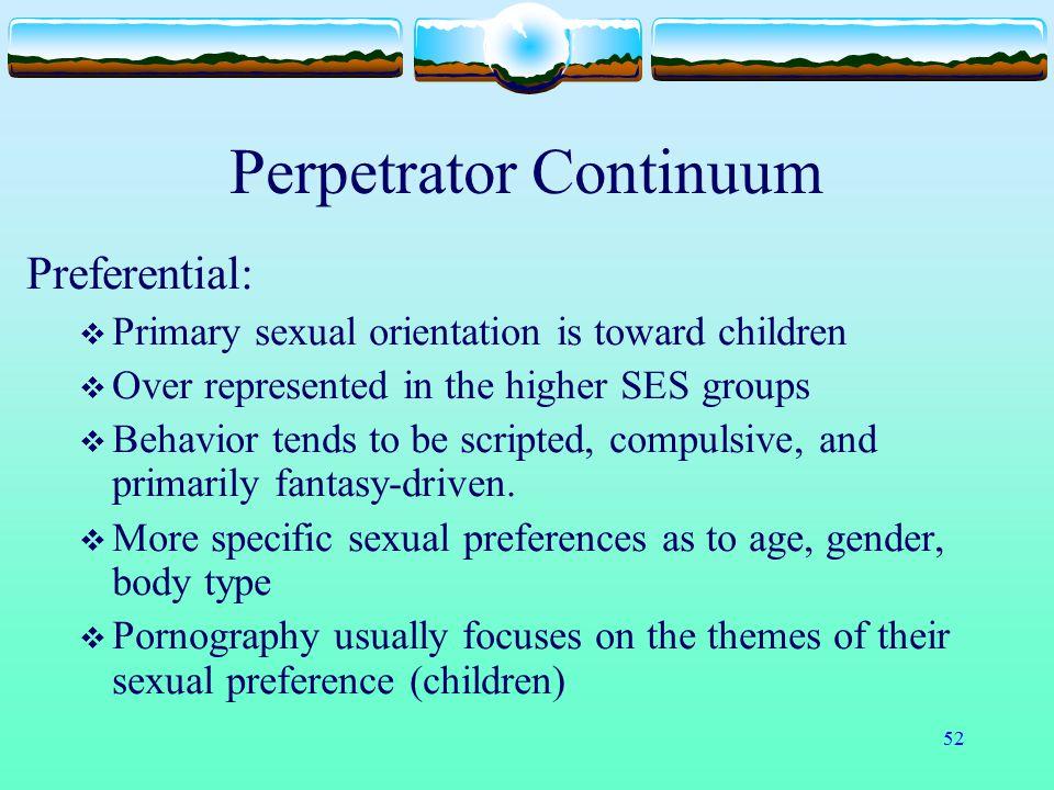 Perpetrator Continuum