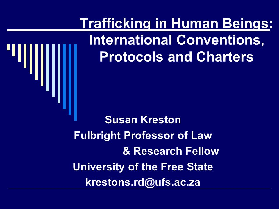 Fulbright Professor of Law University of the Free State