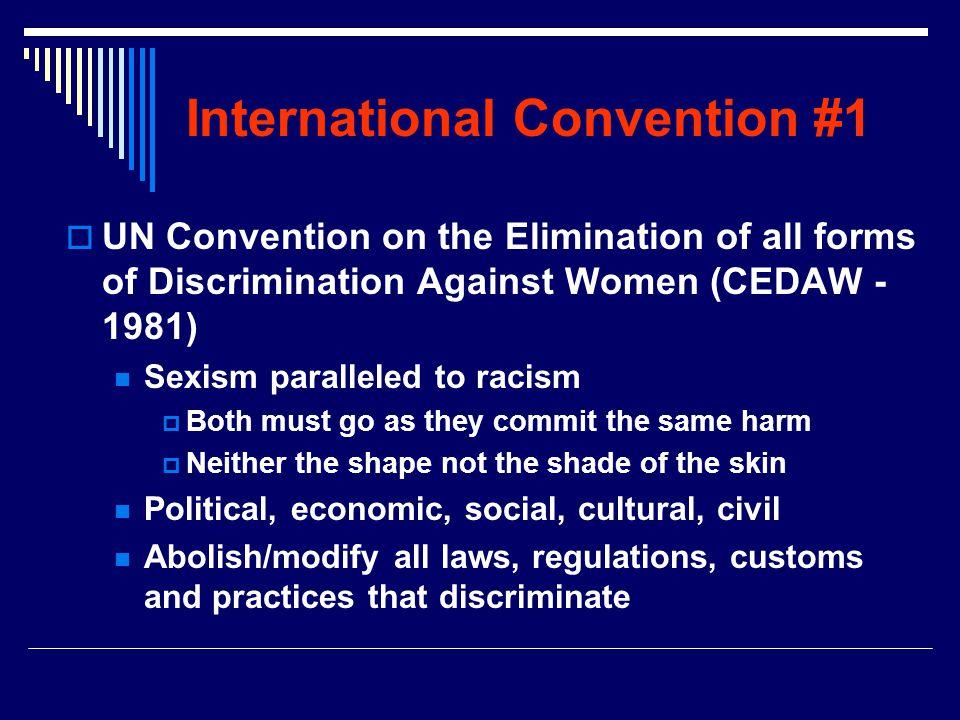 International Convention #1