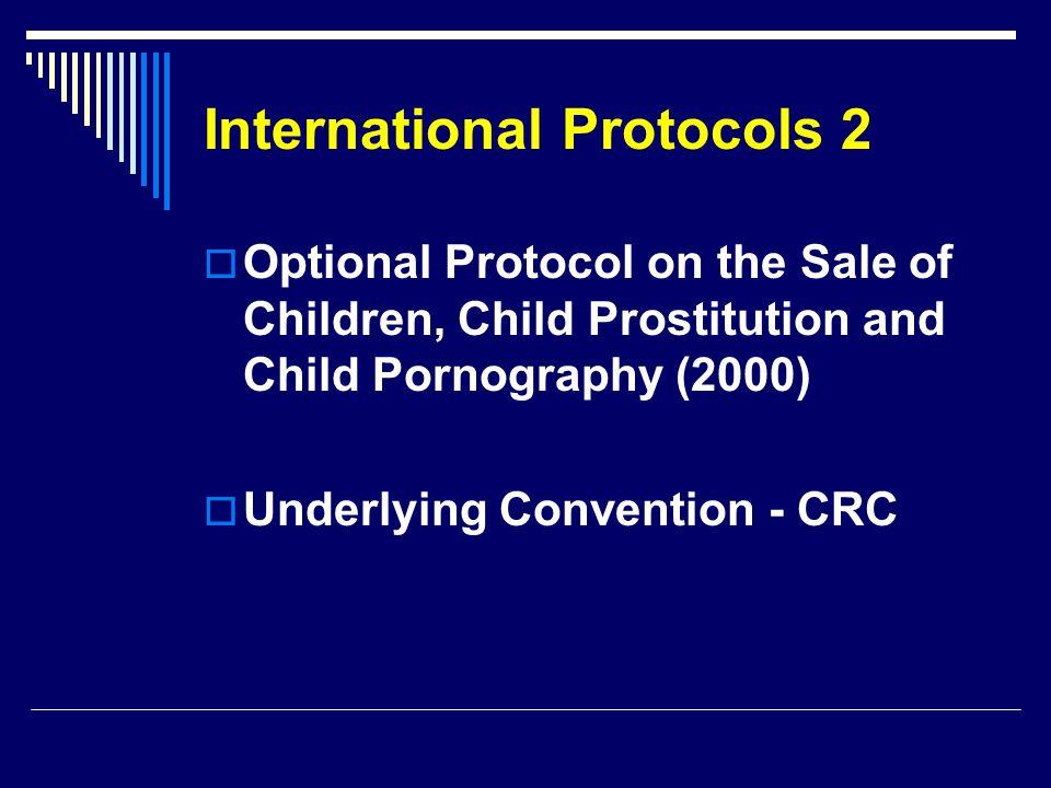 International Protocols 2