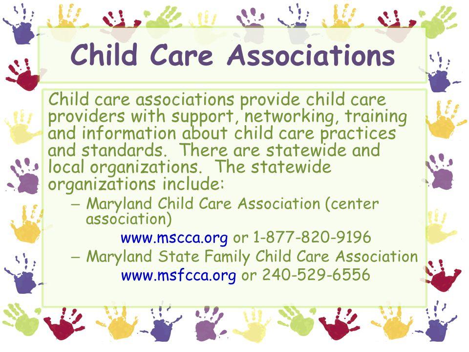 Child Care Associations