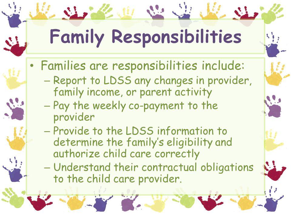 Family Responsibilities