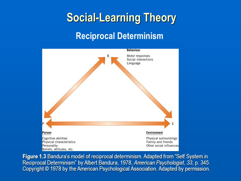 Social-Learning Theory