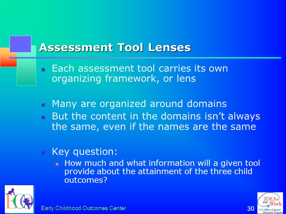 Assessment Tool Lenses