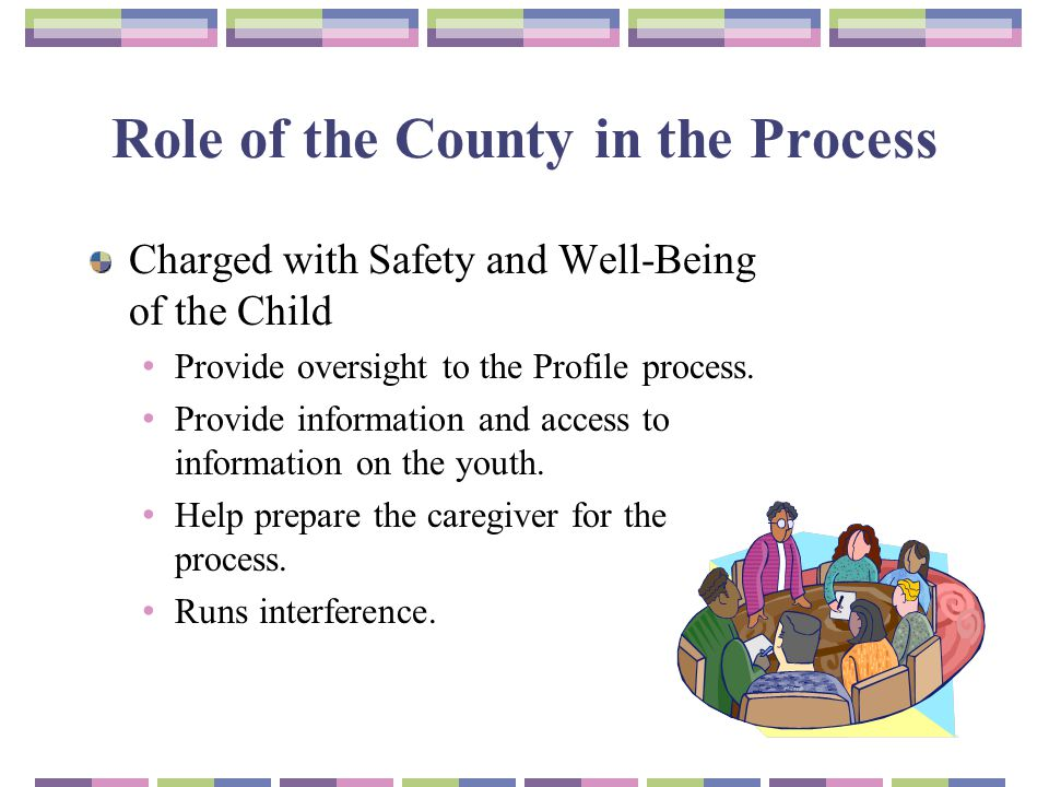 Role of the County in the Process