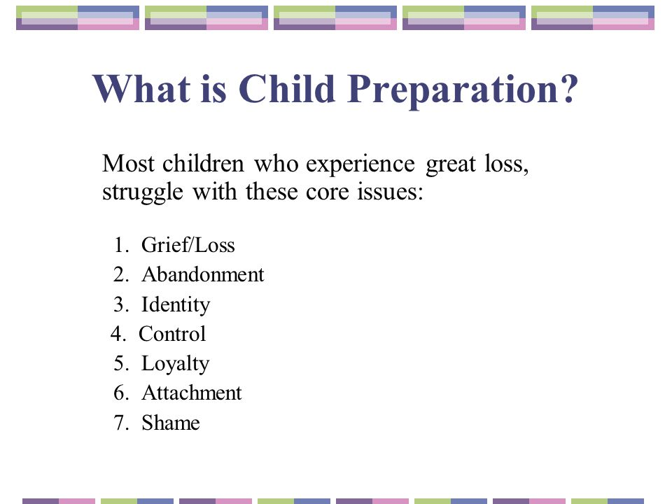 What is Child Preparation