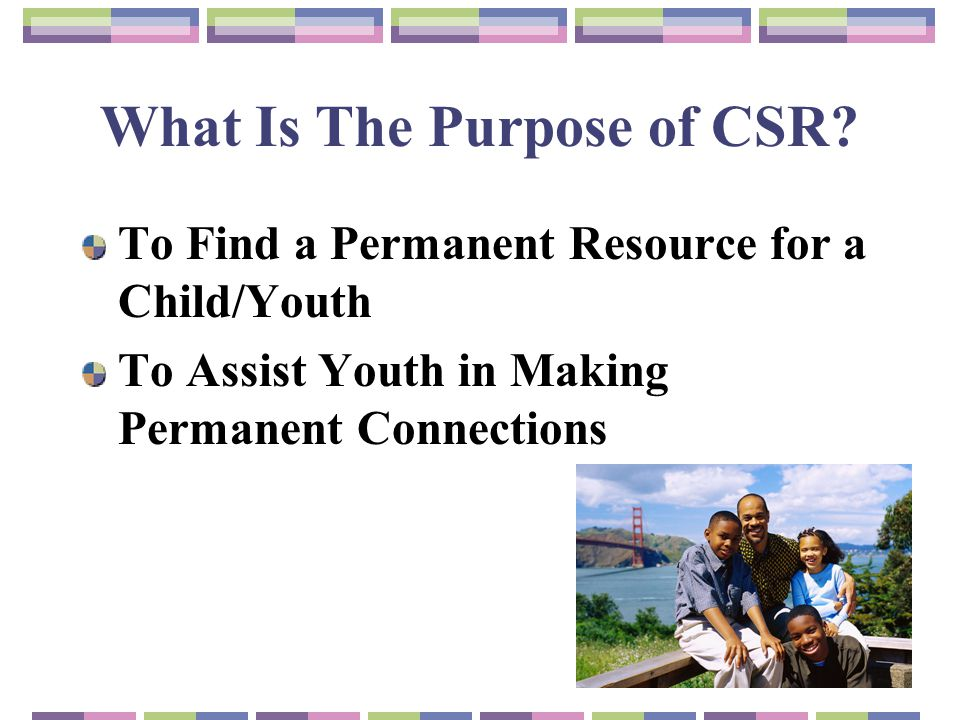 What Is The Purpose of CSR