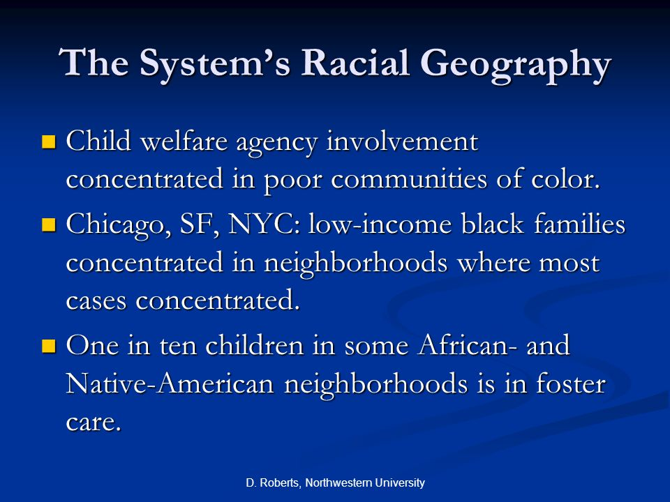 The System's Racial Geography