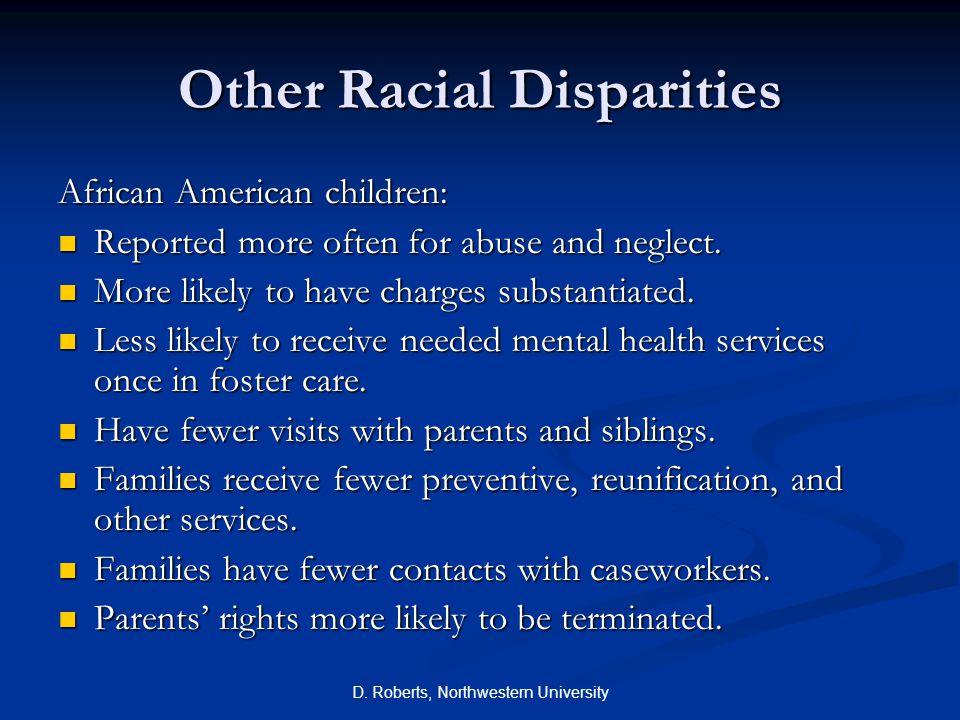 Other Racial Disparities
