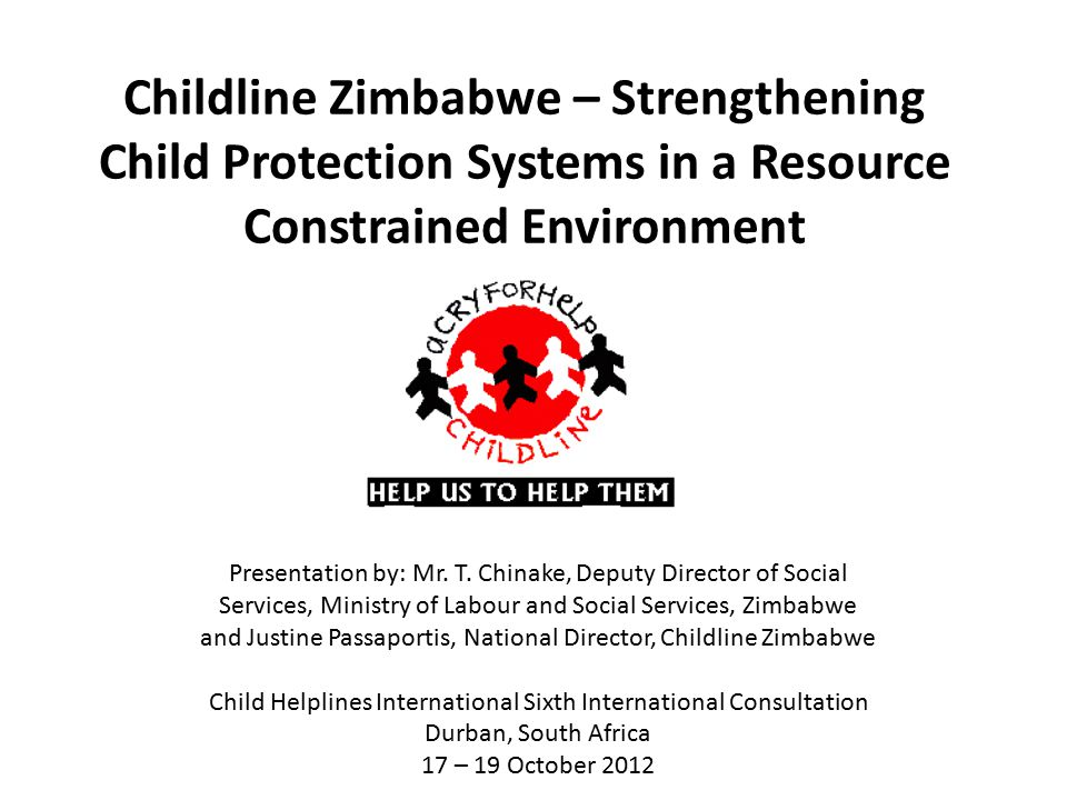 Child Helplines International Sixth International Consultation