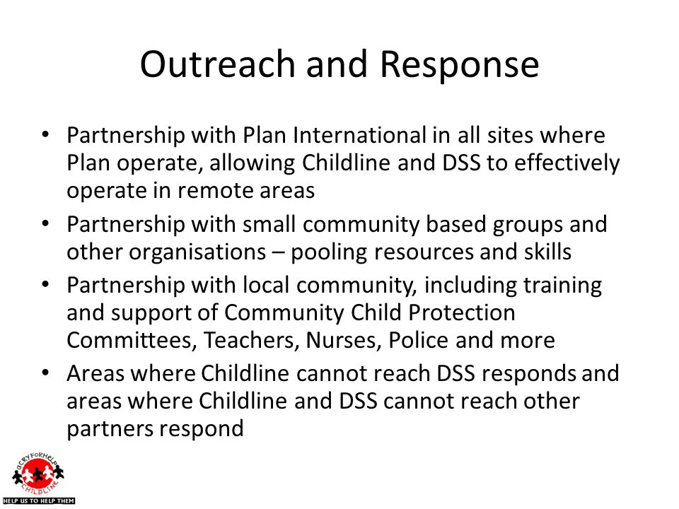 Outreach and Response
