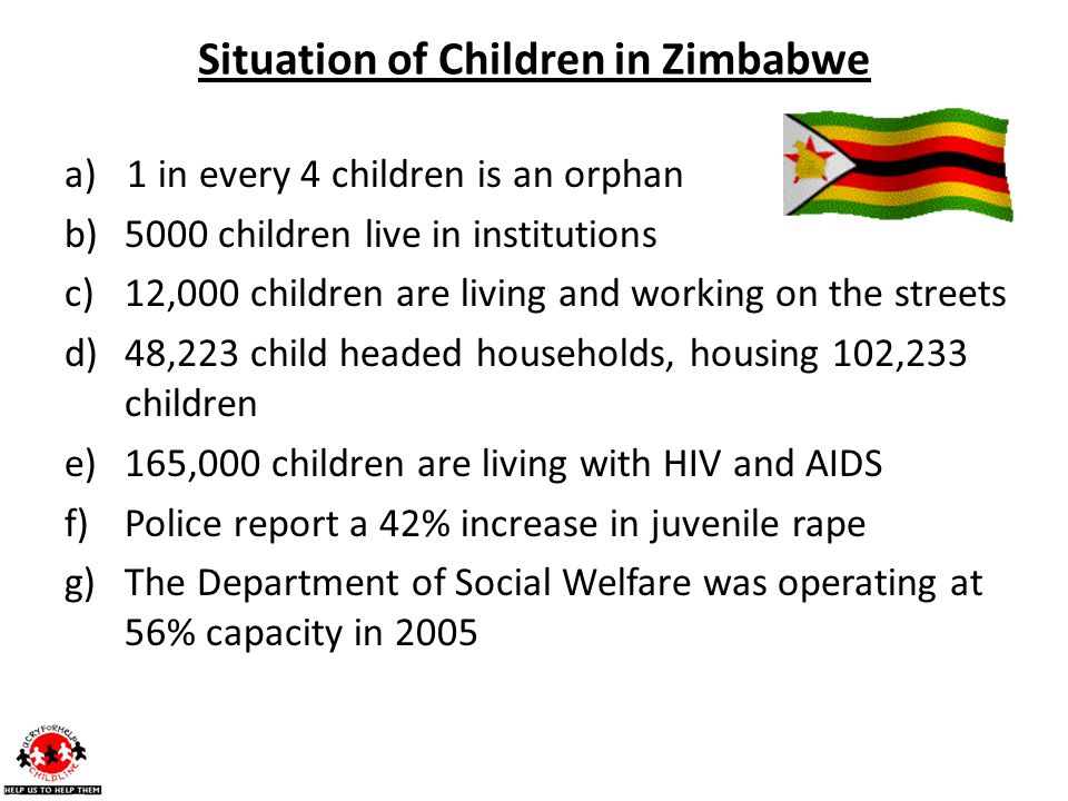 Situation of Children in Zimbabwe