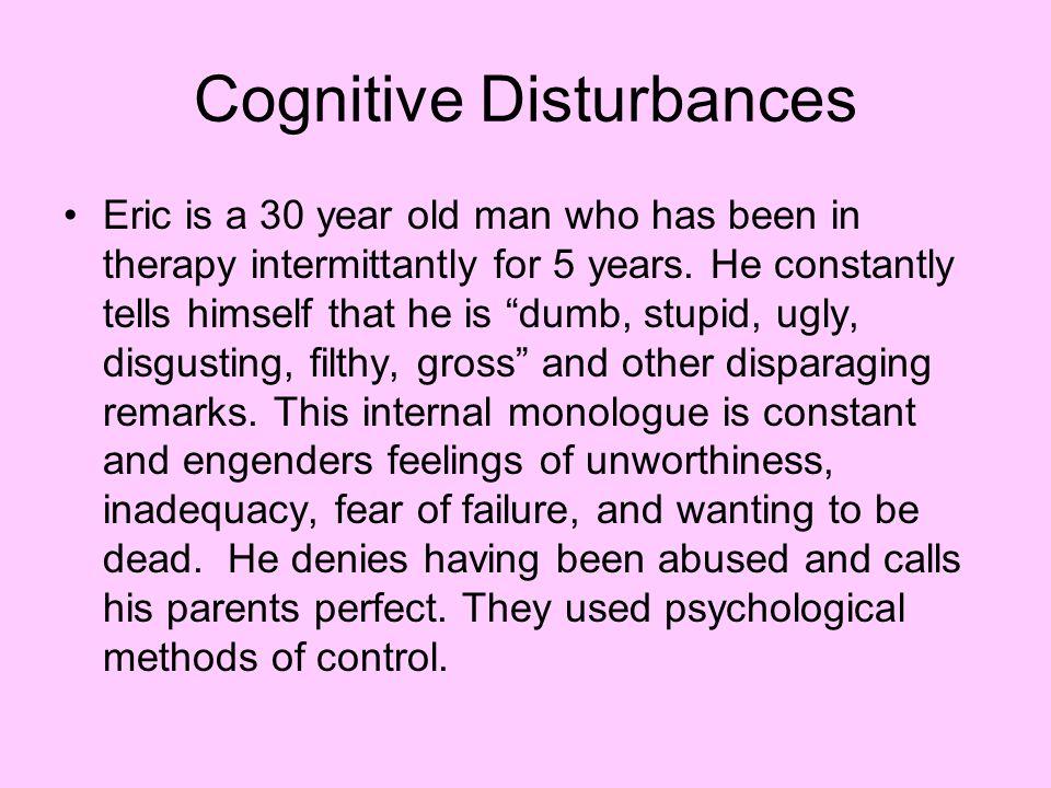 Cognitive Disturbances
