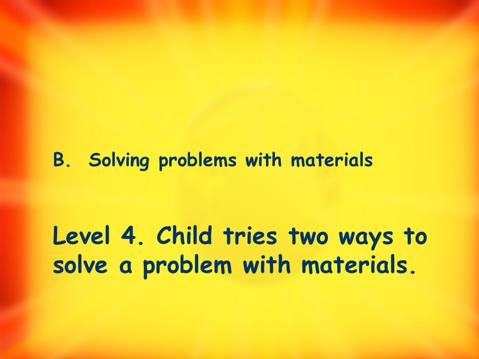 B. Solving problems with materials