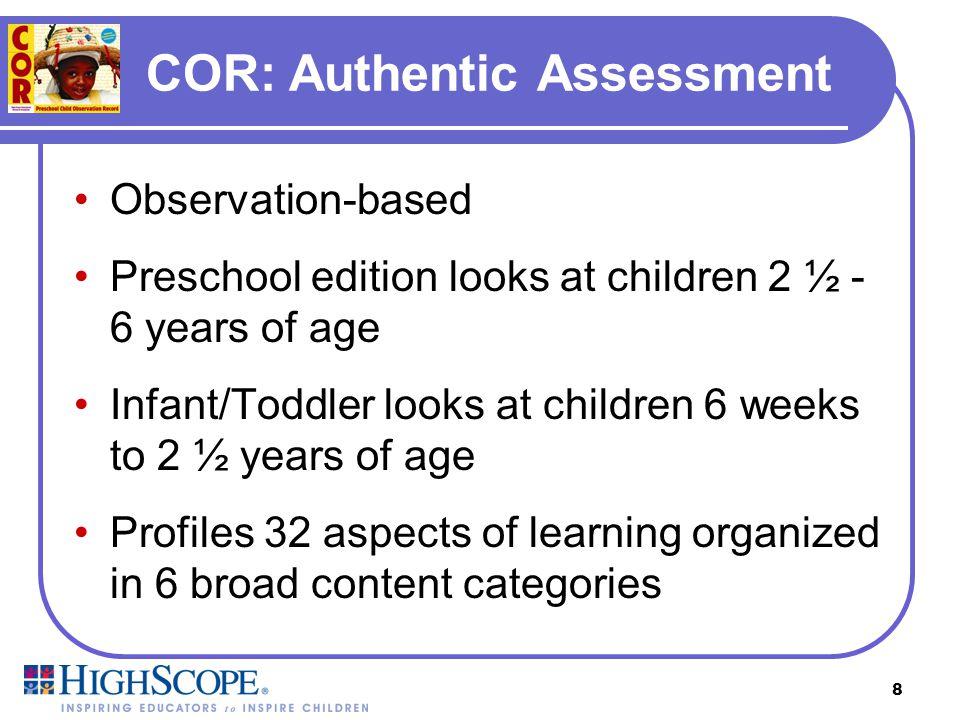 COR: Authentic Assessment