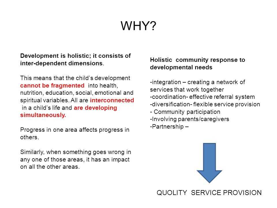 WHY QUOLITY SERVICE PROVISION