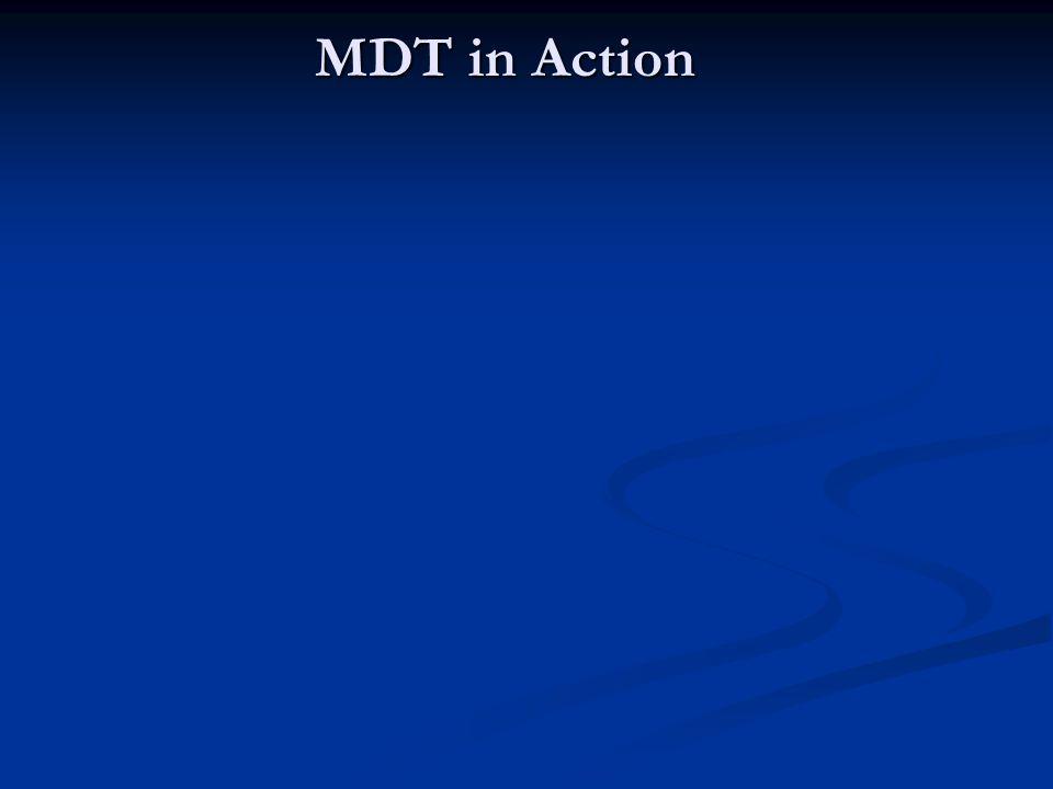 MDT in Action