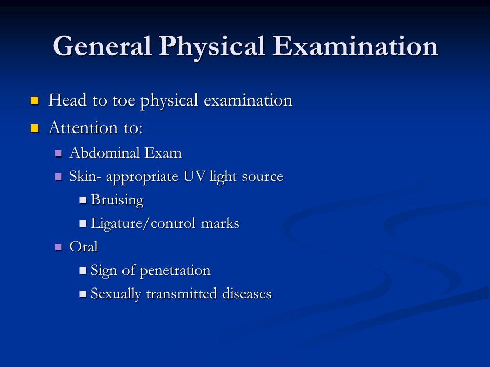 General Physical Examination