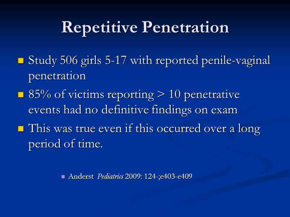 Repetitive Penetration