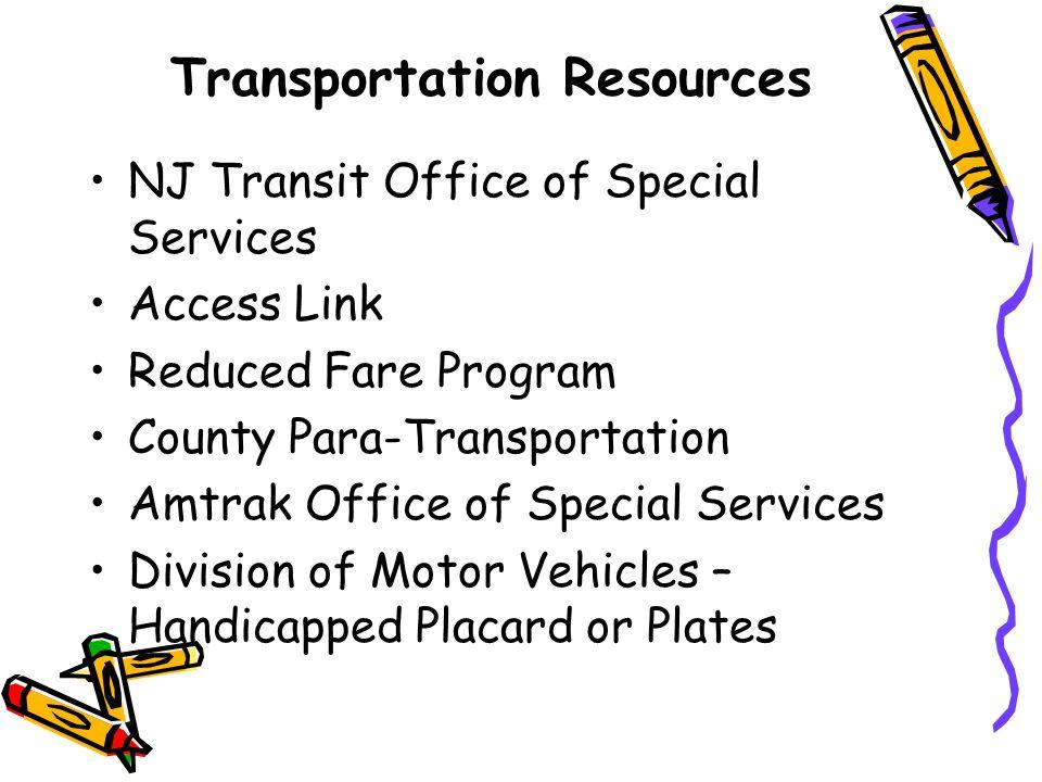 Transportation Resources