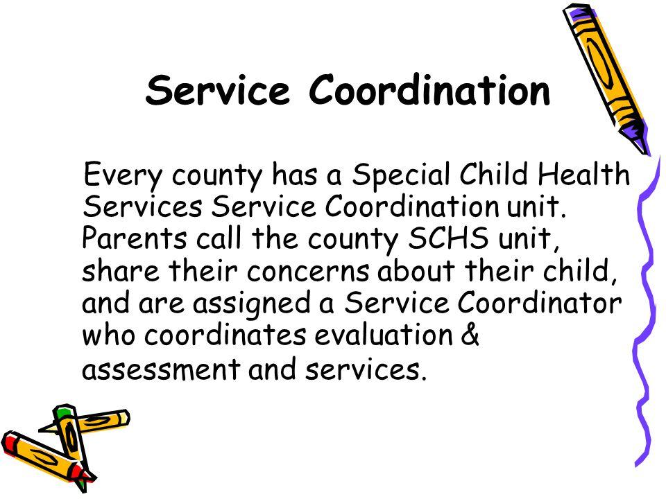 Service Coordination