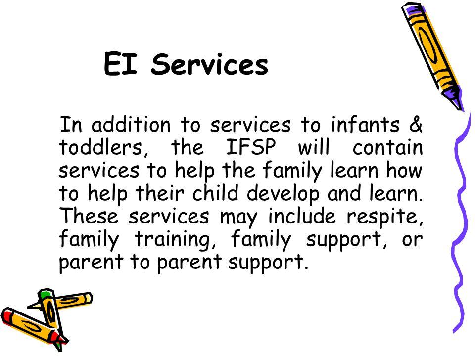 EI Services