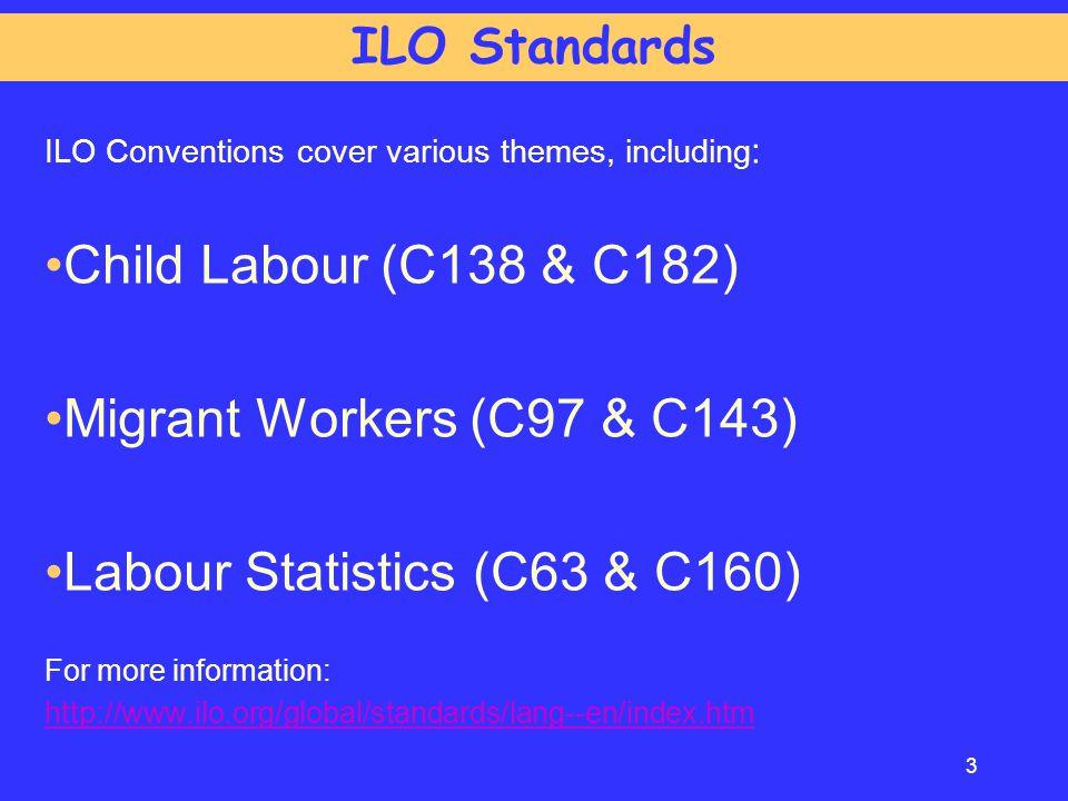 Labour Statistics (C63 & C160)