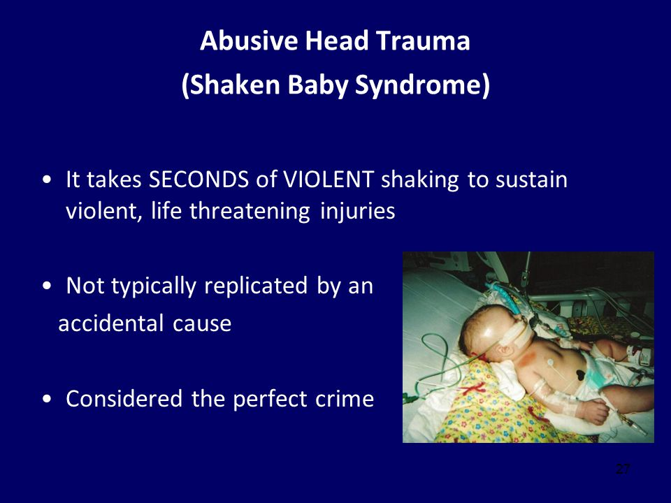 Abusive Head Trauma (Shaken Baby Syndrome)