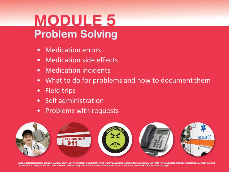 Medication side effects Medication incidents