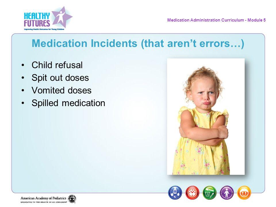 Medication Incidents (that aren't errors…)