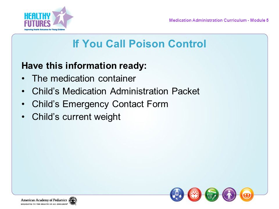 If You Call Poison Control