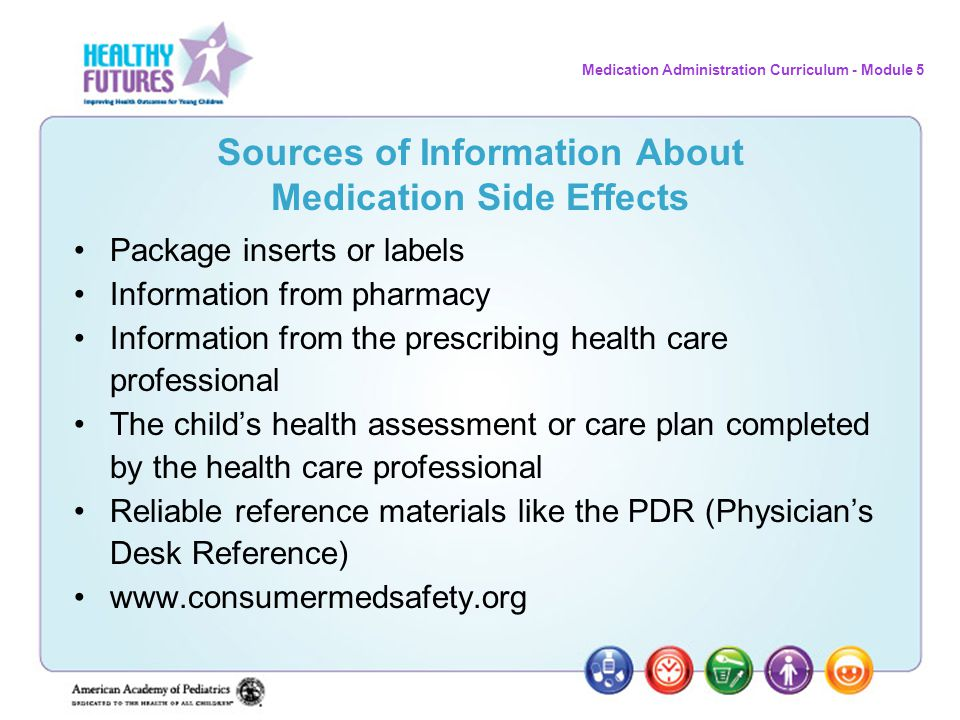 Sources of Information About Medication Side Effects