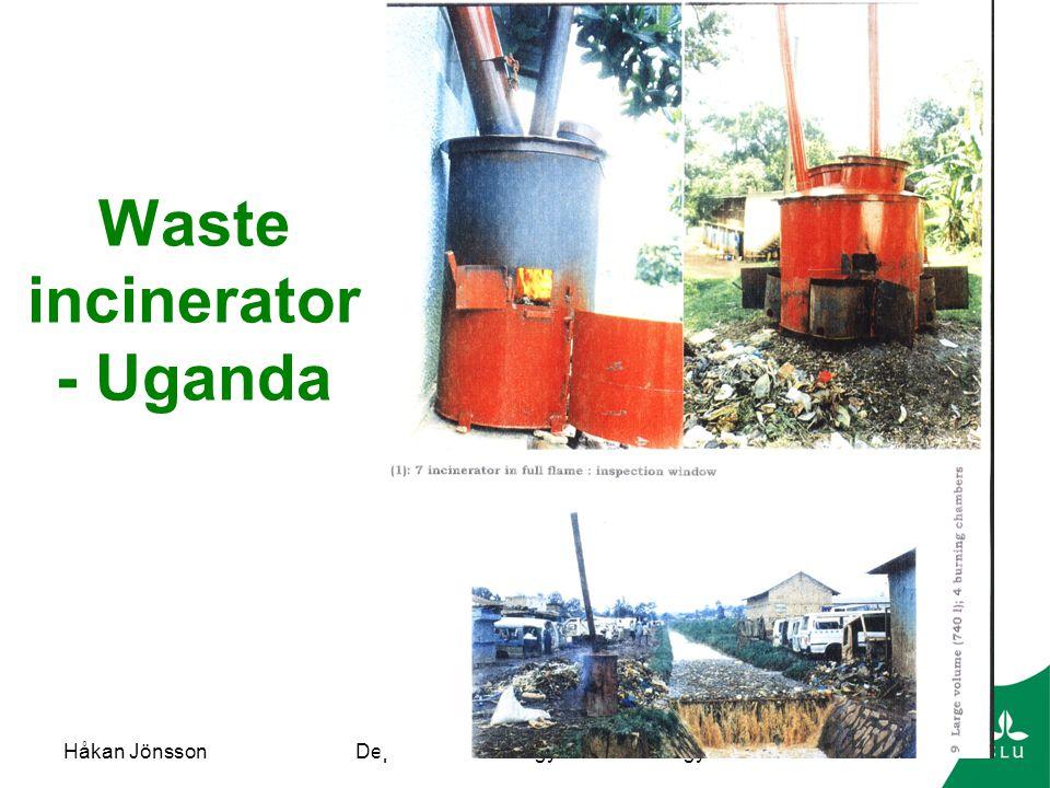 Waste incinerator - Uganda