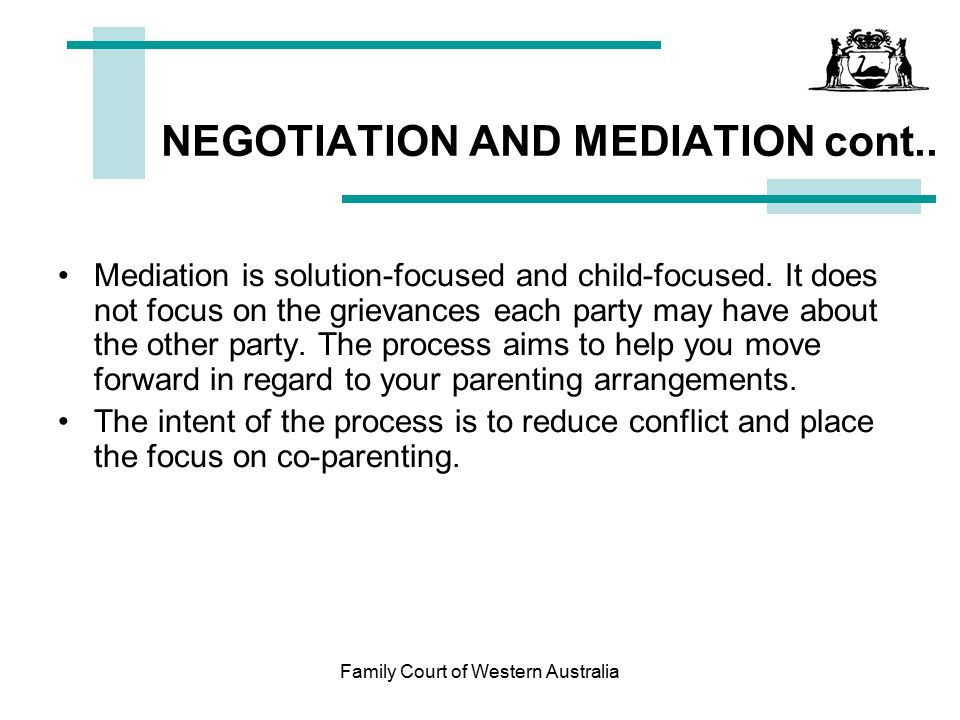 NEGOTIATION AND MEDIATION cont..