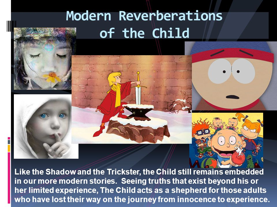 Modern Reverberations of the Child