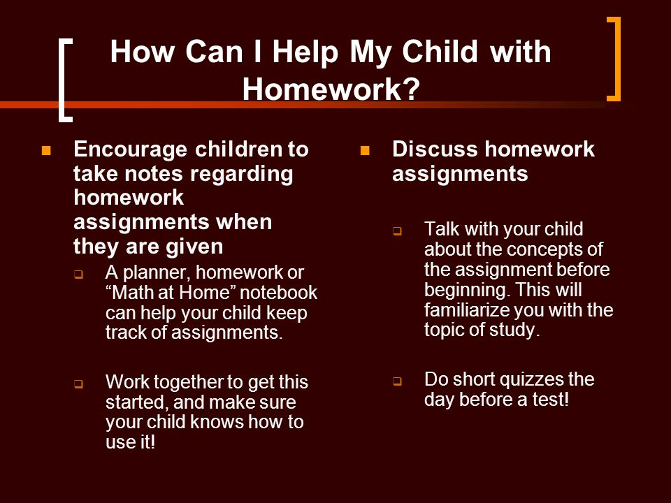 How to help my child with their homework   Writing a discursive     Reader s Digest