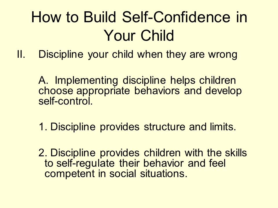 how to build self confidence Building confidence  this page provides practical advice about things that you can do to build your confidence confidence and self-esteem are not the same thing.