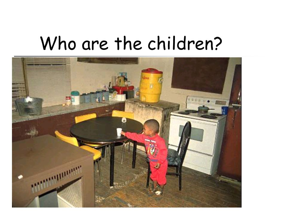 Who are the children