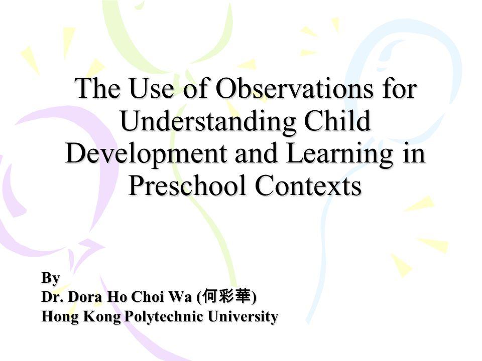By Dr. Dora Ho Choi Wa (何彩華) Hong Kong Polytechnic University