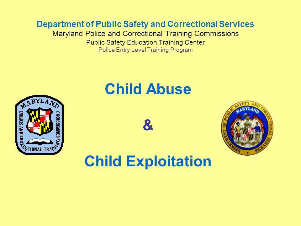 Child Abuse & Child Exploitation