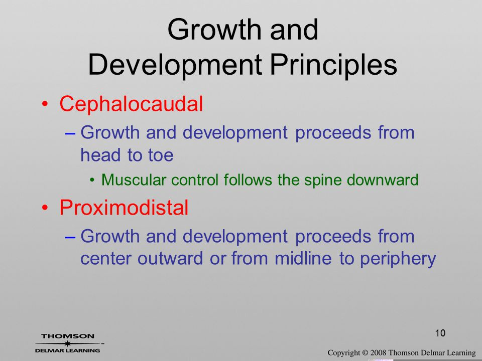 Growth and Development Principles