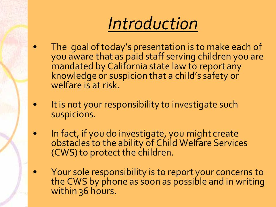 California state law on dating a minor