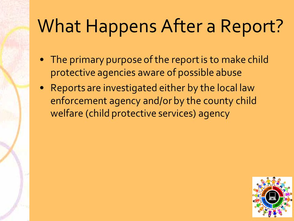 What Happens After a Report