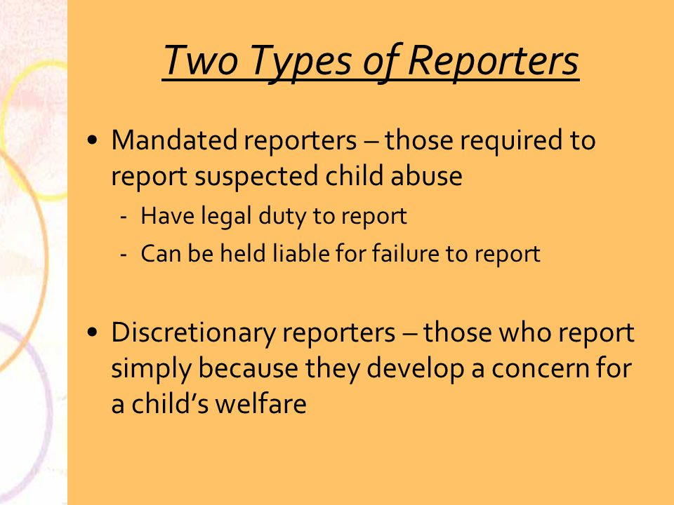 how to become a mandated reporter