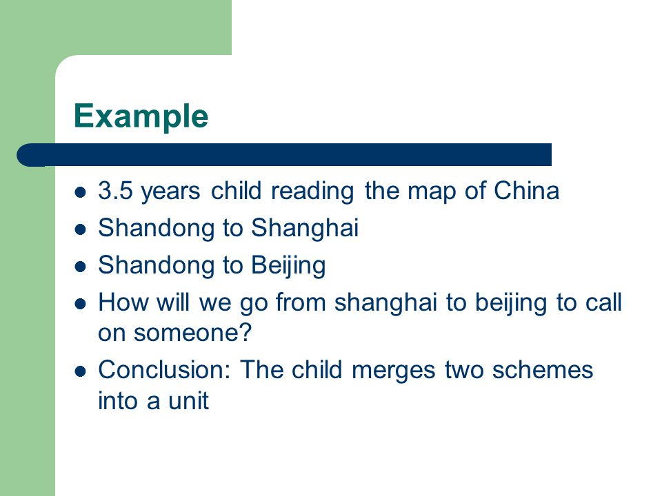 Example 3.5 years child reading the map of China Shandong to Shanghai