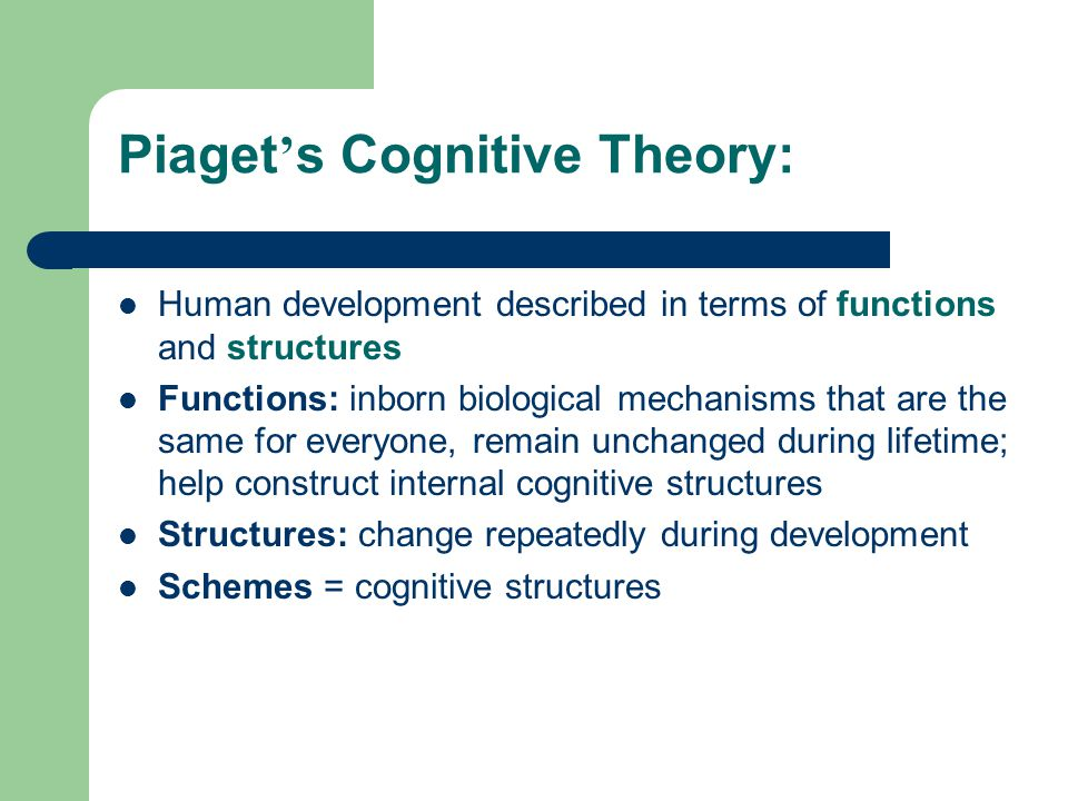 Piagets Cognitive Theory By Kenneth Mackendrick Video Thumbnail