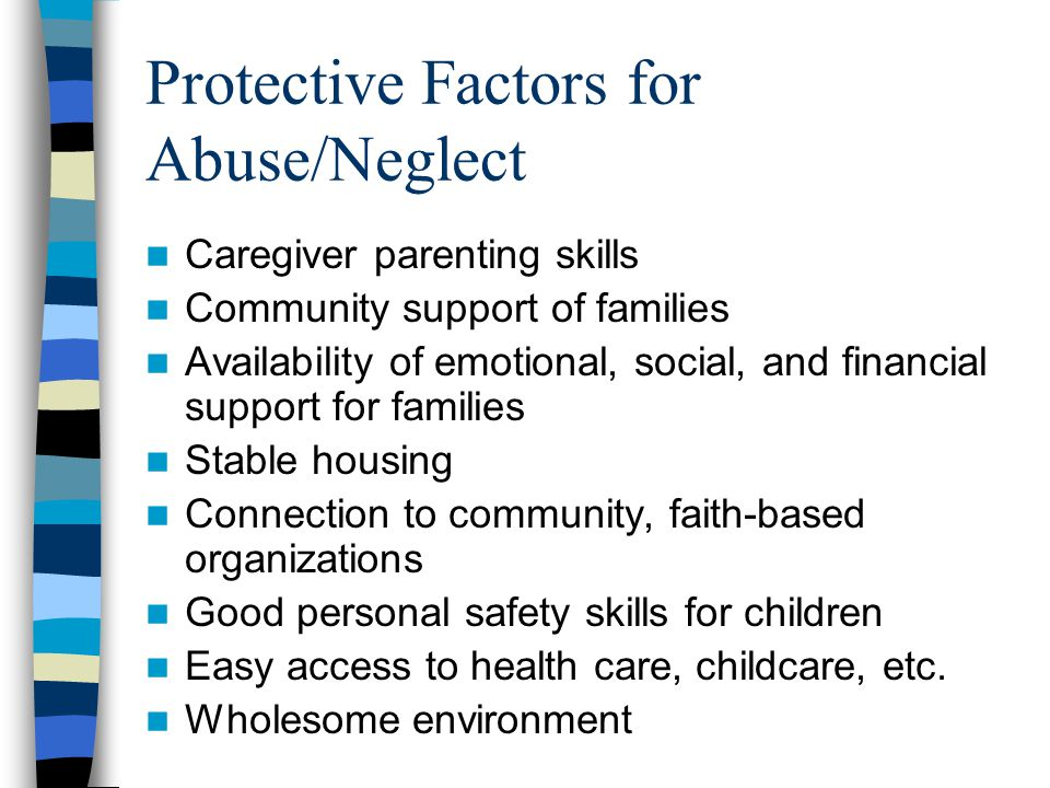 Protective Factors for Abuse/Neglect