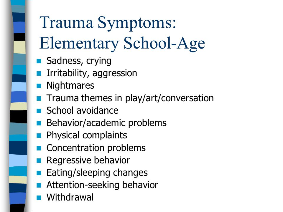 Trauma Symptoms: Elementary School-Age