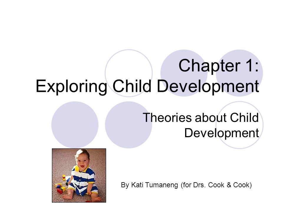 Chapter 1: Exploring Child Development