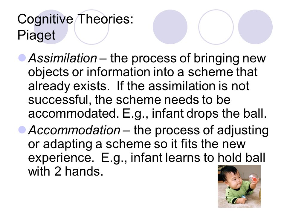 Cognitive Theories: Piaget